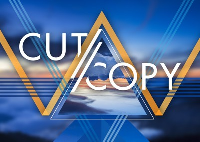 Cut Copy Summer 2014 Tour Poster
