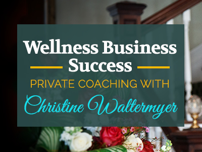 Christine Waltermyer – Wellness Business Coaching